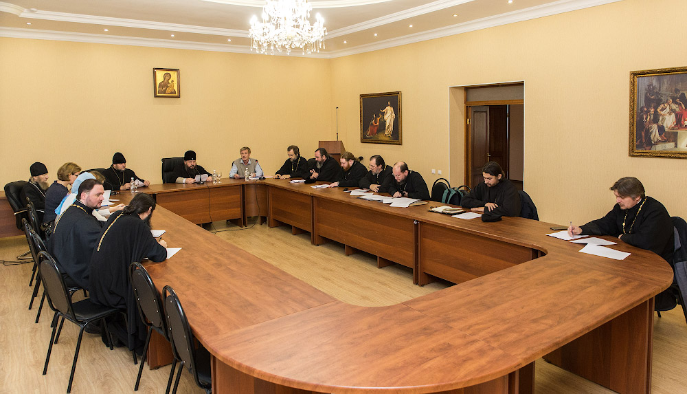 Состоялось расширенное заседание организационного комитета Рождественских чтений-2017