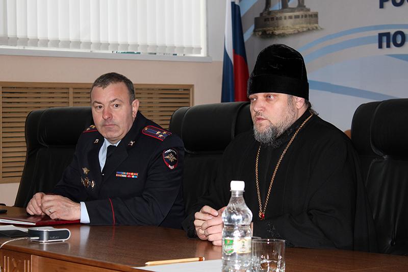 Состоялась лекция об истории крещения Руси для сотрудников аппарата УМВД России по Пензенской области