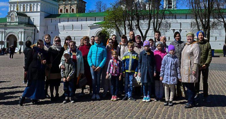 Воспитанники воскресной школы «Зернышки» совершили паломническую поездку по святыням Московской области