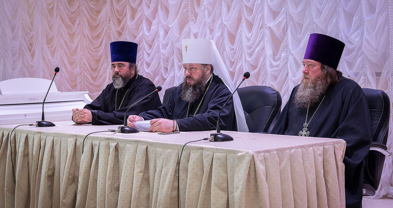 В Пензенской духовной семинарии состоялось очередное епархиальное собрание духовенства