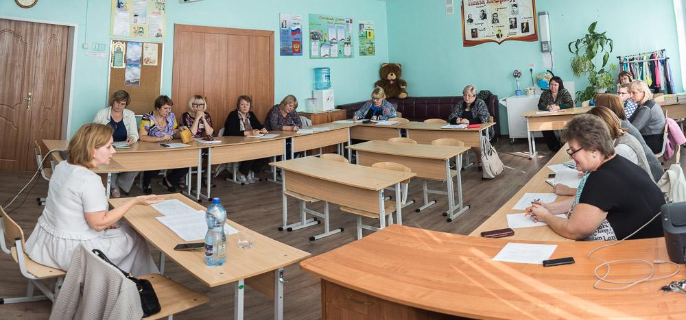 В школе №26 г. Пензы состоялось занятие стажировочной площадки «ОПК в современной школе: преемственность, традиции, инновации»