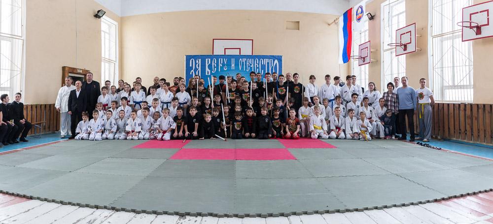 Четвертый ежегодный Георгиевский фестиваль военно-патриотических клубов Пензенской области