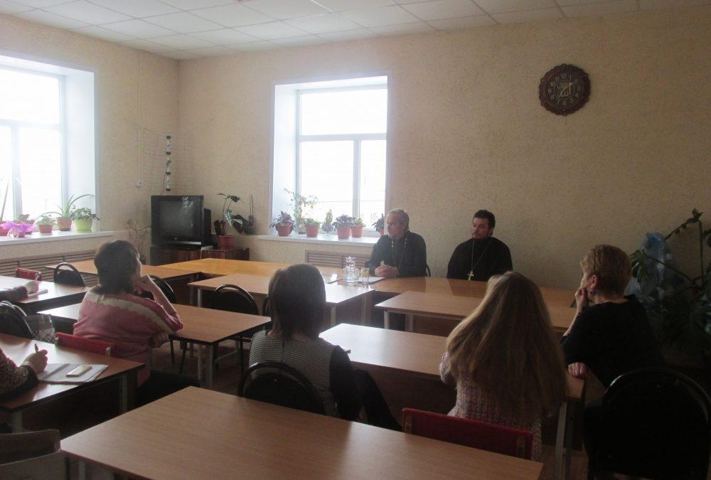 Клирики Мокшанского благочиния приняли участие в семинаре для преподавателей основ православной культуры