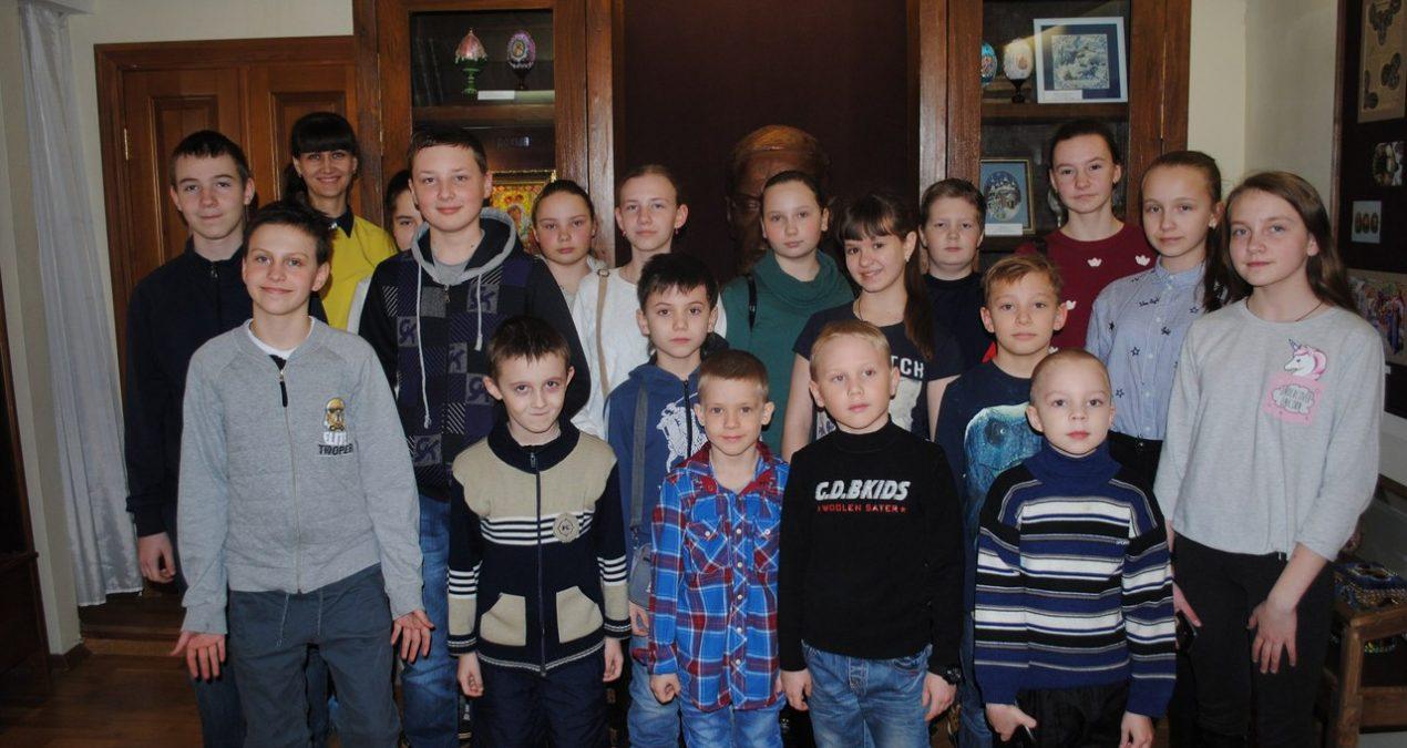 Воспитанники воскресной школы Никольской церкви в Ахунах посетили пензенский музей