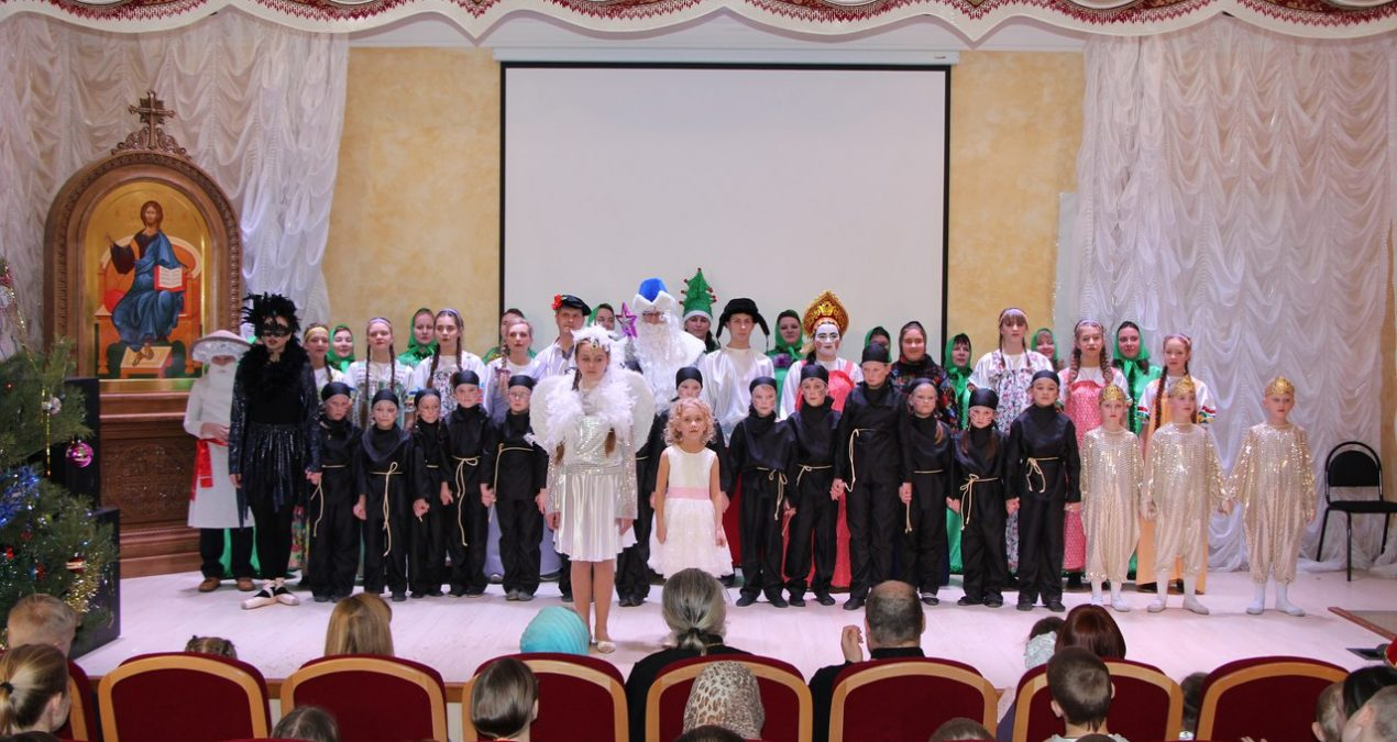 Воскресная школа «Горлица» приняла участие в XIII Сретенском театральном фестивале среди воскресных школ и православных объединений