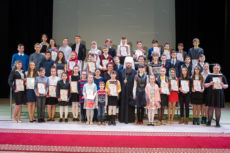 Награждение победителей и участников конкурса «Церковь в истории Пензенского края. Уроки столетия»