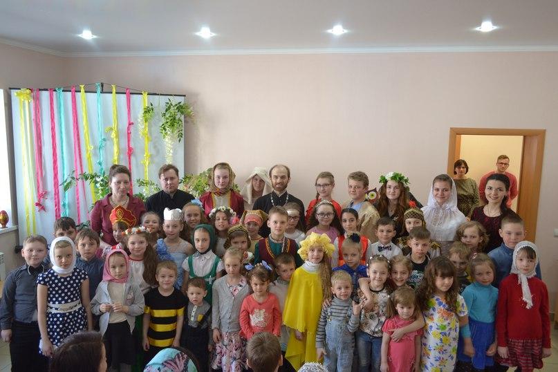 Пасхальный праздник в Архиерейской воскресной школе