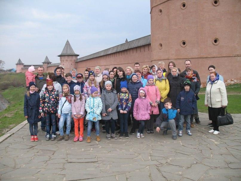 Паломническая поездка воспитанников воскресной школы «Зернышки» по Золотому кольцу России