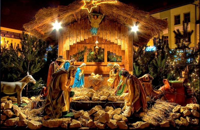 С Рождеством Господа Бога и Спаса нашего Иисуса Христа!