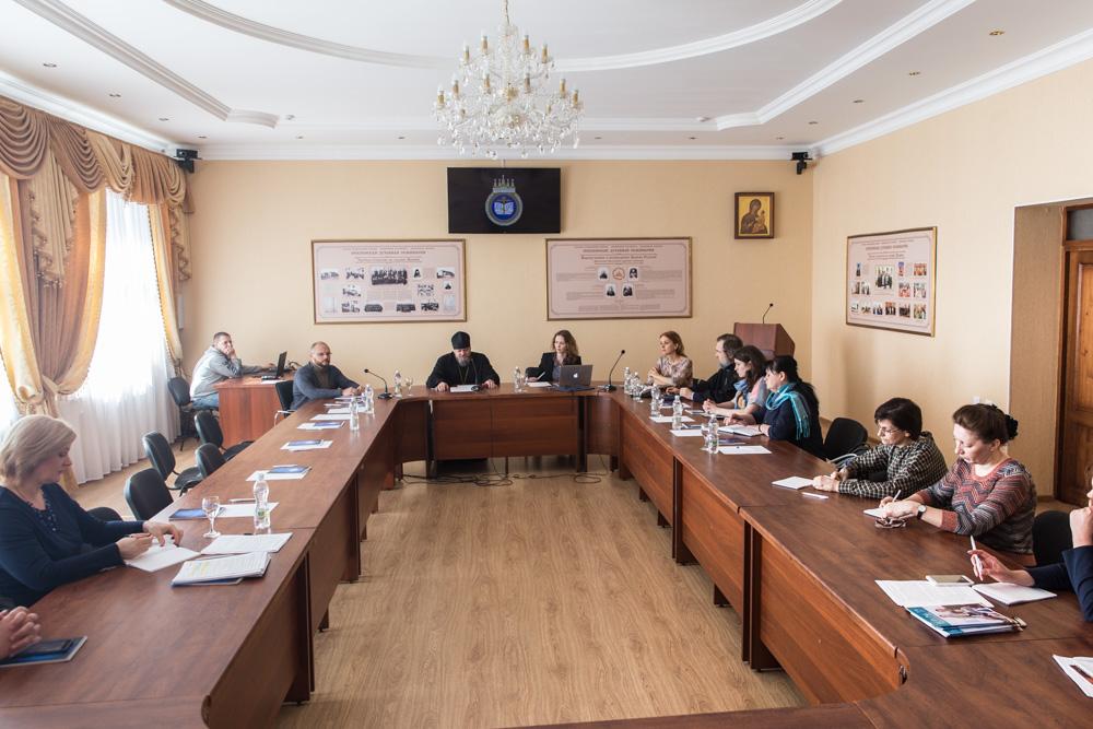 В Пензенской духовной семинарии состоялось расширенное заседание коллегии отдела религиозного образования и катехизации Пензенской епархии