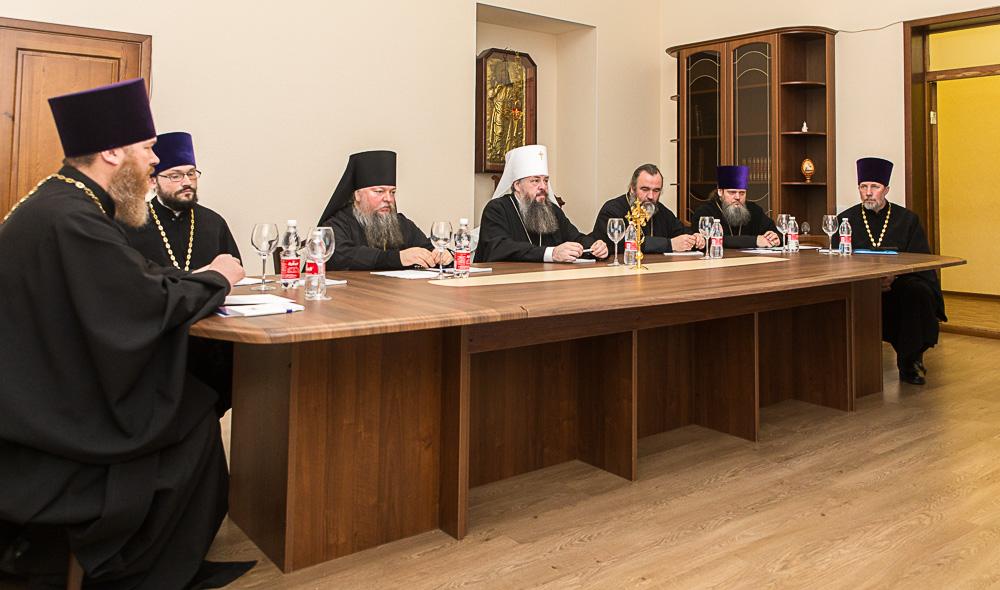 Состоялось расширенное заседание Архиерейского совета Пензенской митрополии